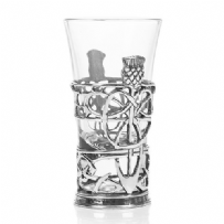 Thistle Shot Glass Holder